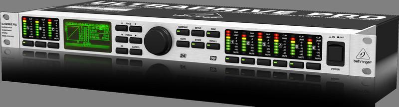 Behringer DCX2496 Цифровая сиcтема управления громкоговорителями