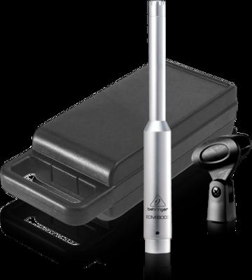 Behringer ECM8000 микрофон всенаправленный конденсаторный измерительный, 20-20000Гц, держатель, чехол