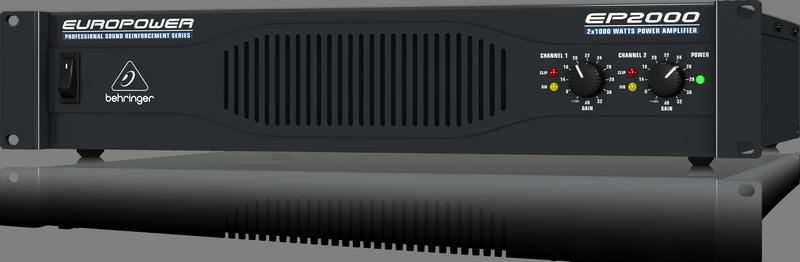 Behringer EP4000 усилитель 2-канальный