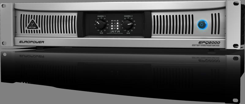 Behringer EPQ2000 Усилитель 2-канальный класс D