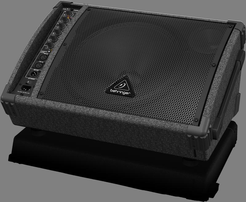 Behringer F1320D 2-полосный активный монитор 300Вт, НЧ 225 Вт+ ВЧ 72 Вт, 12'+1'', эквалайзер, подавитель обр.связи, стакан 35 мм