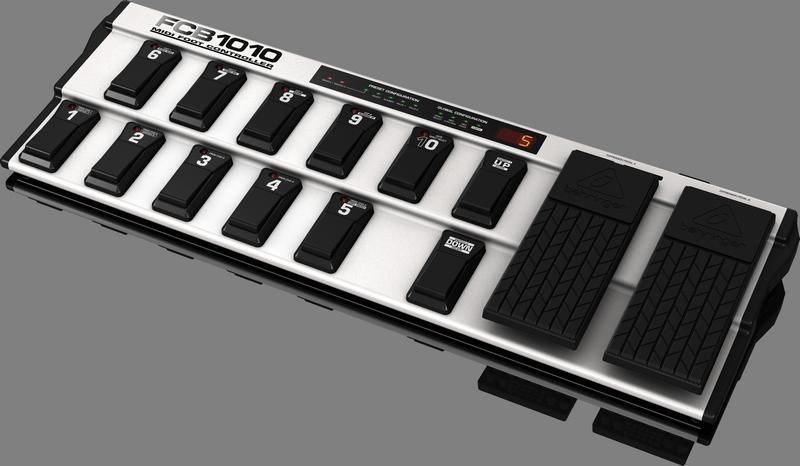 Behringer FCB1010 напольный MIDI-контроллер с двумя педалями