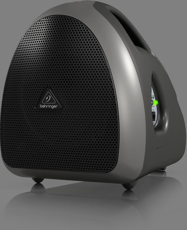 Behringer HPA40 портатив. сист. звукоусил., 40 Вт, микрофон со шнуром, батарея с зарядкой, наплеч.ремень, USB-wirless in