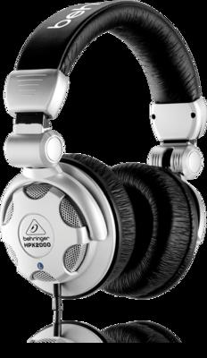 Behringer HPX2000 Наушники динамические для DJ,20-20000Гц, 64 Ом, кабель 2м