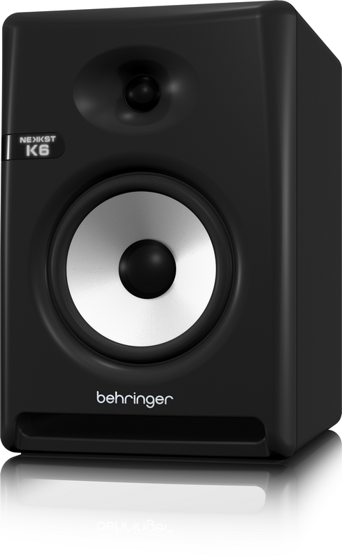 Behringer K6 2-полосный студийный монитор 1'+6,5' BiAmp 100W