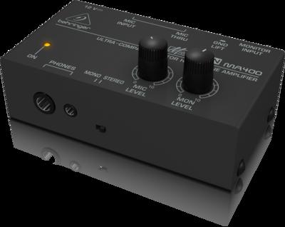 Behringer MA400 компактный мониторный усилитель для стереонаушников