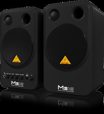 Behringer MS16 2-полосная персональная мониторная система 2 х 8Вт (пара)