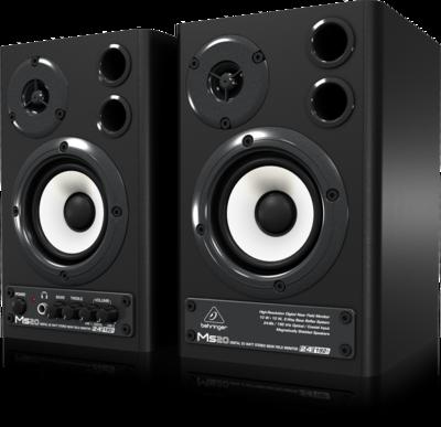 Behringer MS20 2-полосная мониторная система 2 х 10Вт с цифровым входом (пара)