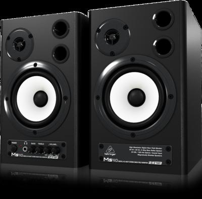 Behringer MS40 2-полосная мониторная система 2 х 20Вт с цифровым входом (пара)
