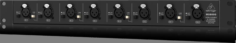 Behringer MS8000 рэковый 8-канальный микрофонный сплиттер
