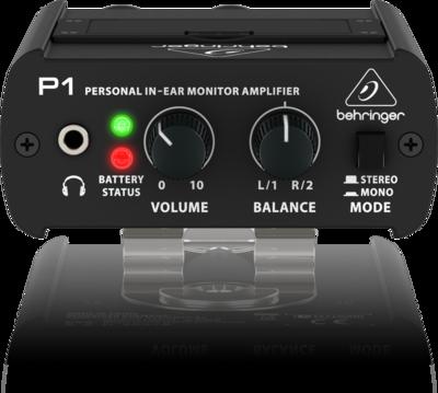 Behringer P1 усилитель наушников in-ear-мониторной системы