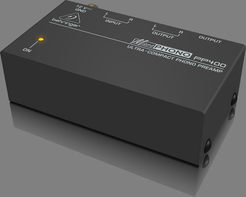 Behringer PP400 Предусилитель-корректор для проигрывателей виниловых дисков (Phono)
