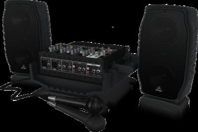 Behringer PPA200 - 5-канальная система звукоусиления, 2х75Вт, 4