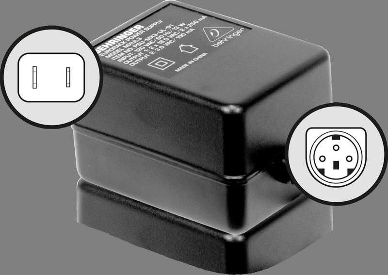 Behringer PSU3 блок питания для микшерных пультов MX602A, UB502, UB802, UB1002, XENYX (502, 802, 1002), Q502USB, Q802USB и Q1002USB