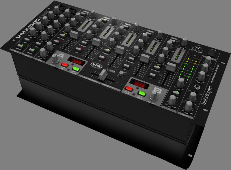 Behringer VMX1000USB DJ-микшер со встроенным USB интерфейсом (7 каналов, совм. с МАС иРС, микр.предусилители).