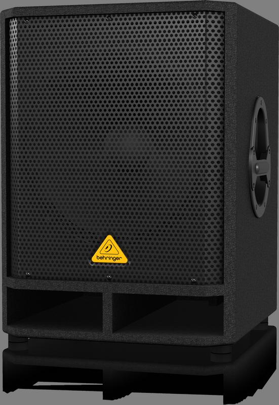 """Behringer VQ1500D активный сабвуфер 15"""" 200/500Вт 40-200Гц 122дБ, стерео-кроссовер"""