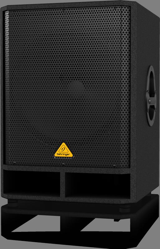 """Behringer VQ1800D активный сабвуфер 200/500Вт 18"""" 40-200Гц 124дБ, стерео-кроссовер"""
