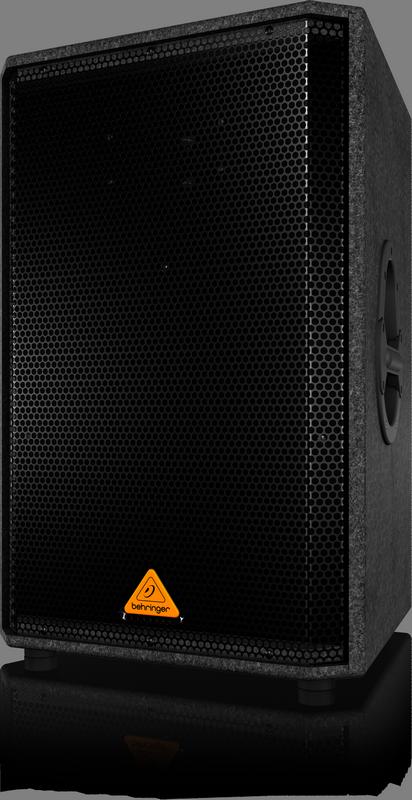 """Behringer VS1520 двухполосная пассивная АС 15"""" 150/500Вт 50-20000Гц 8Ом, дерево"""