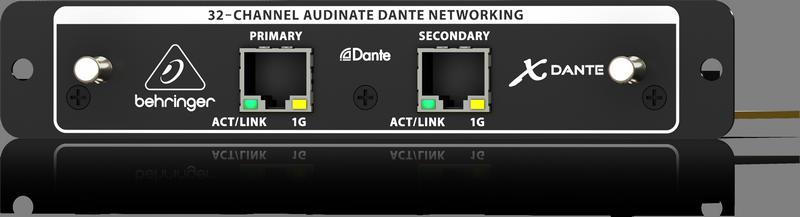 Behringer X-DANTE карта расширения для цифрового микшера Х32