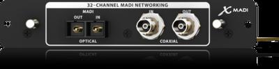 Behringer X-MADI 32-канальный двунаправленный аудио интерфейс через MADI (AES10)