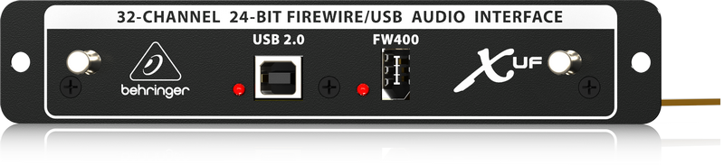 Behringer X-UF 32-канальный двунаправленный аудио интерфейс USB/FireWire