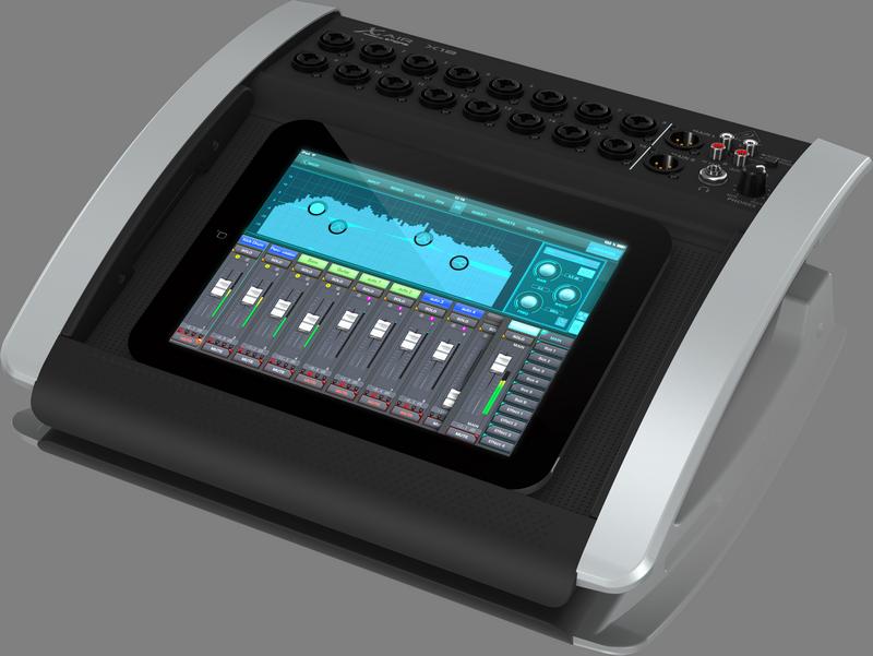 Behringer X18 цифровой микшер, 16 мик Midas XLR, Main L/R XLR, Aux 1-6 Jack, 18 кан/4FX/6BUS, ETHERNET,WiFi, USB-18/18кан. ULTRANET