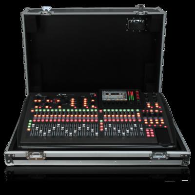 Behringer X32-TP цифровой микшер в кейсе, 32 вх+8 возвратов, 25 фейдеров, 32 аналоговых вх/16 вых, 8FX, 16MIX, 6MATRIX, 6MUTE, 2xAES50, USB-audio