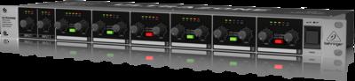 Behringer ZMX2600 зонный микшер, 6 зон, 2 стереовхода, 6 стереовыходов, переключение зон mono/stereo, индик. вых. уровня, балансные входы и выходы XLR