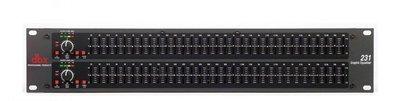 DBX 231S 2-канальный 1/3 октавный графический эквалайзер