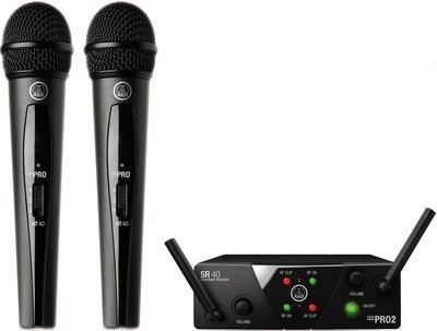 AKG WMS40 MINI2 VOCAL SET BD US25A/C