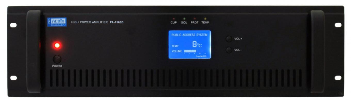 PROAUDIO PA-1000D трансляционный усилитель