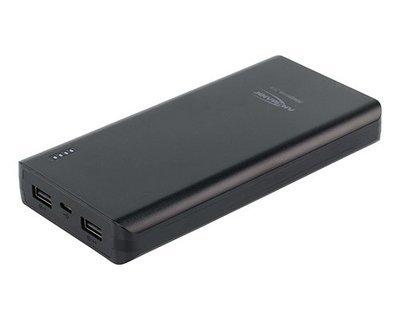 Универсальный внешний аккумулятор ANSMANN 1700-0068 Powerbank 20800мАч в комплекте с шнуром USB-microUSB BL1