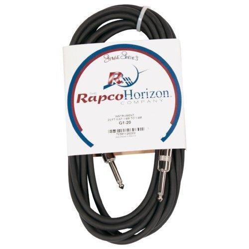 HORIZON G1-20 инструментальный кабель, 6 метров, цвет черный