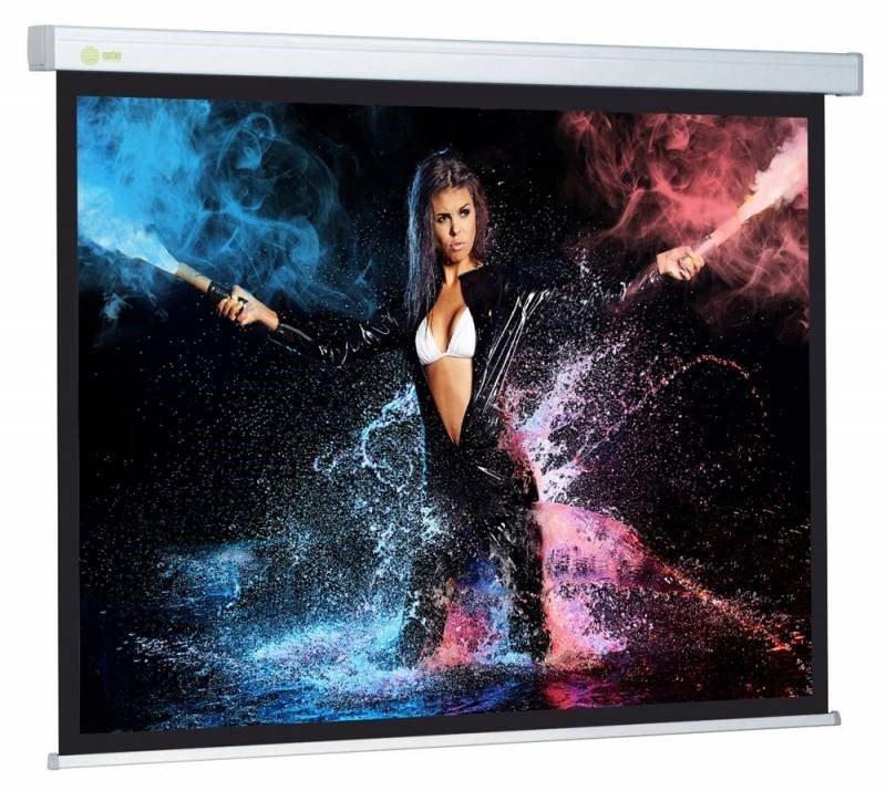 """Экран Wallscreen CS-PSW-180x180 100"""" 1:1 настенно-потолочный рулонный белый"""