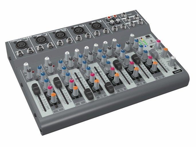 Behringer 1002B аналоговый микшер, 10 каналов