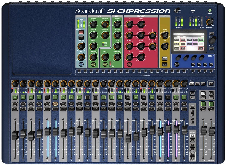 SOUNDCRAFT SI EXPRESSION 2 цифровой микшер