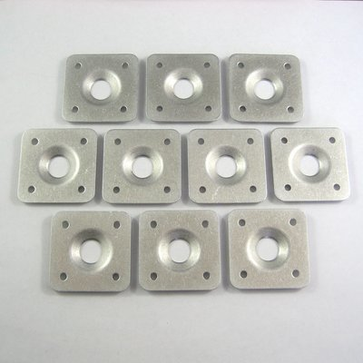 Panel Doubler Plates - Square - 10 Pack