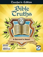 Bible Truths 2 Teacher Edition with CD 4th Edition