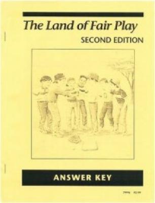 Land of Fair Play Answer Key