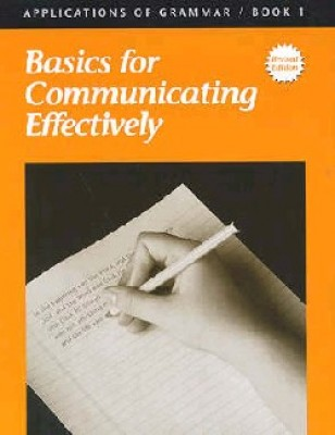 Applications Of Grammar Book 1 Grade 7