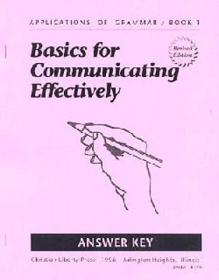 Applications Of Grammar Book 1 Answer Key