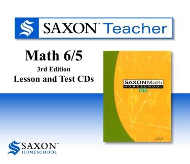 Saxon Math 65 Teacher CD-rom (5th Grade)