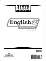 English 2 Tests 2nd Edition
