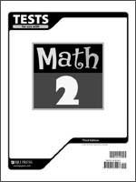 Math Tests Grade 2 3rd Edition