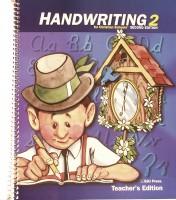 Handwriting Teacher Book Grd 2 2nd Edition