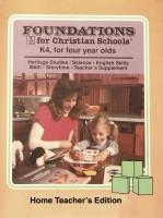 Foundations Teacher Book K4
