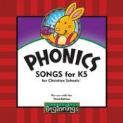 Beginnings Phonics Songs Cd Grd K5 3rd Edition