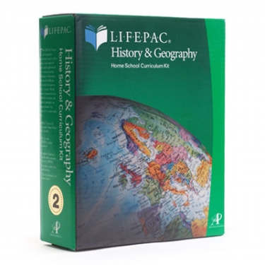 Lifepac Hist and Geog Grd 3 Set