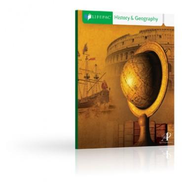 Lifepac Hist and Geo Grd 4 Student Bks (set Of 10 Lifepacs)