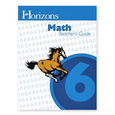 Horizons Math 6 Teacher Book